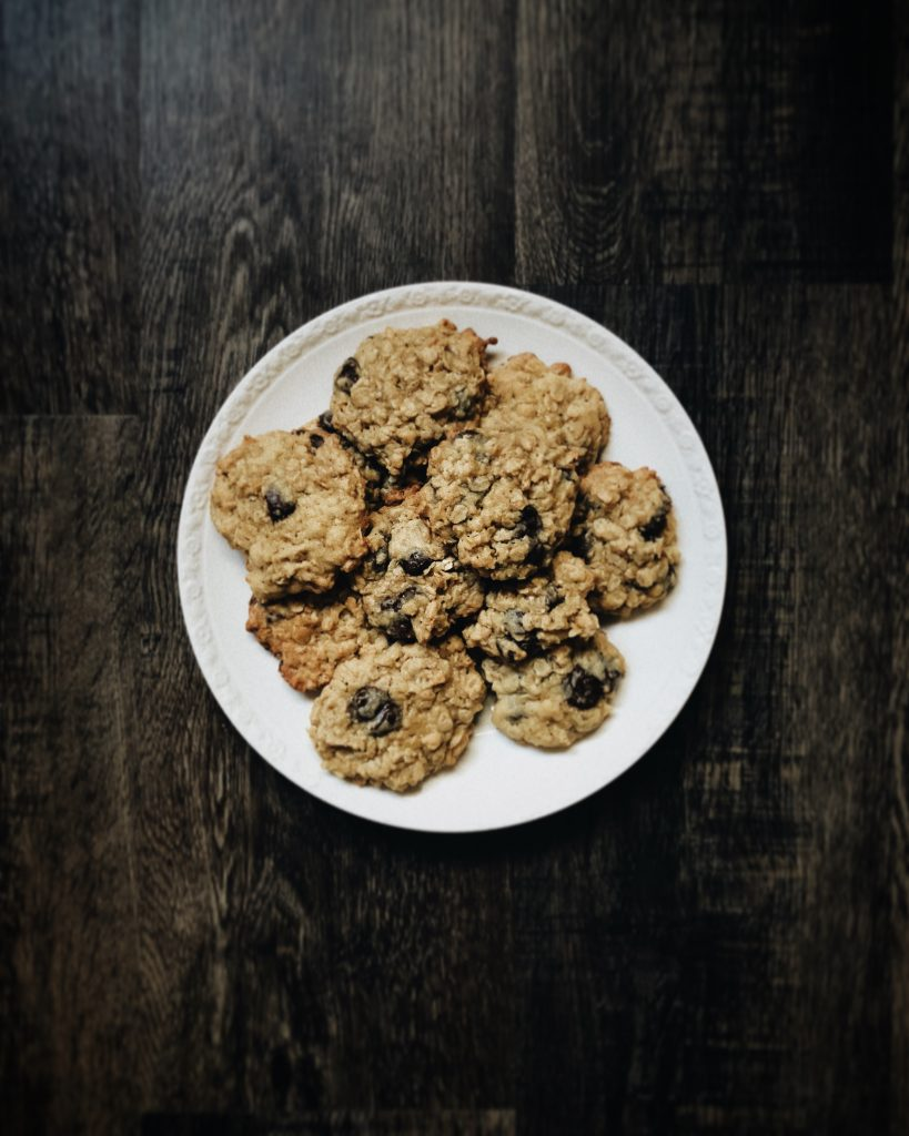 Quick and Easy Oats & Seed Cookies